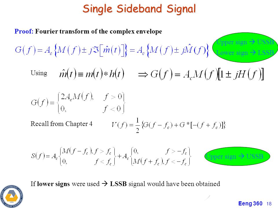 Single Sideband