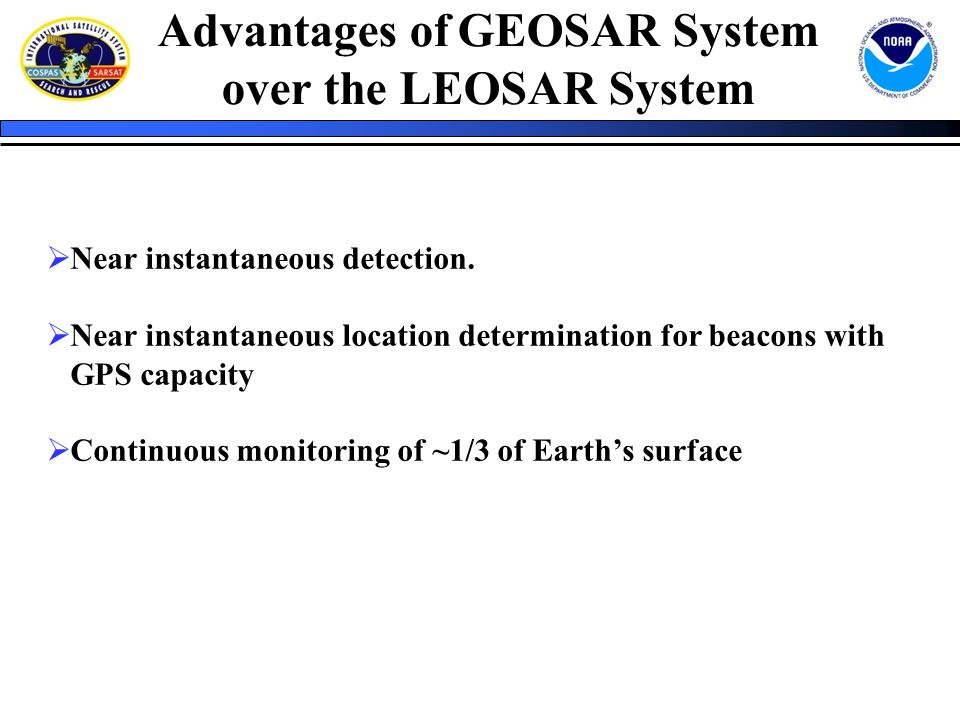 Advantages Of Internet Monitor System : Search and rescue satellite aided tracking sarsat ppt
