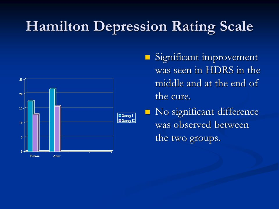 beck depression inventory vs hamilton depression scale beck Should you take the beck depression inventory test to determine if you are clinically depressed  and the geriatric depression scale as well .