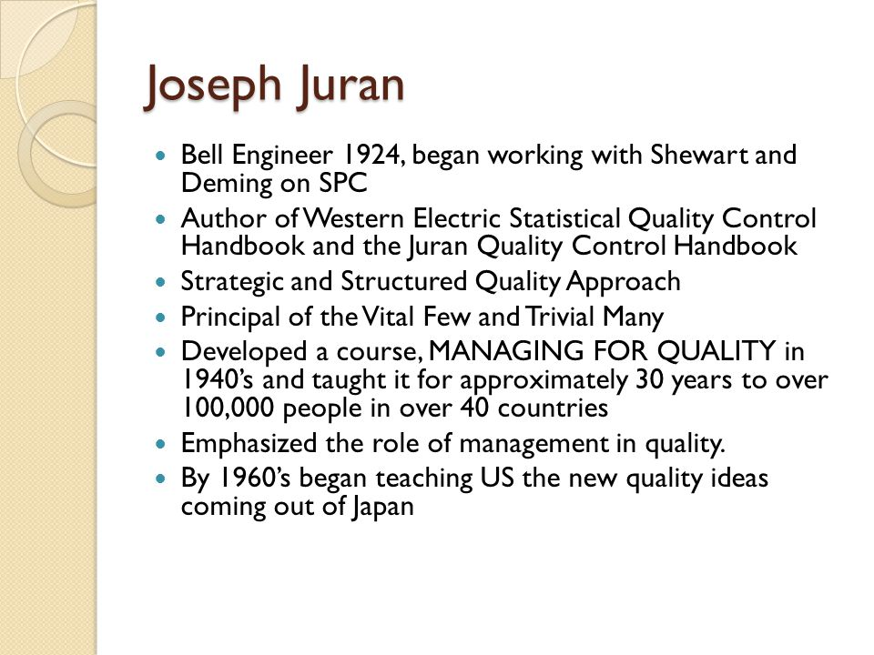 what is juran s definition of breakthrough improvement Quality improvement - improvement = breakthrough :  juran on leadership for quality: an executive handbook  juran institue, inc summers, c s d.