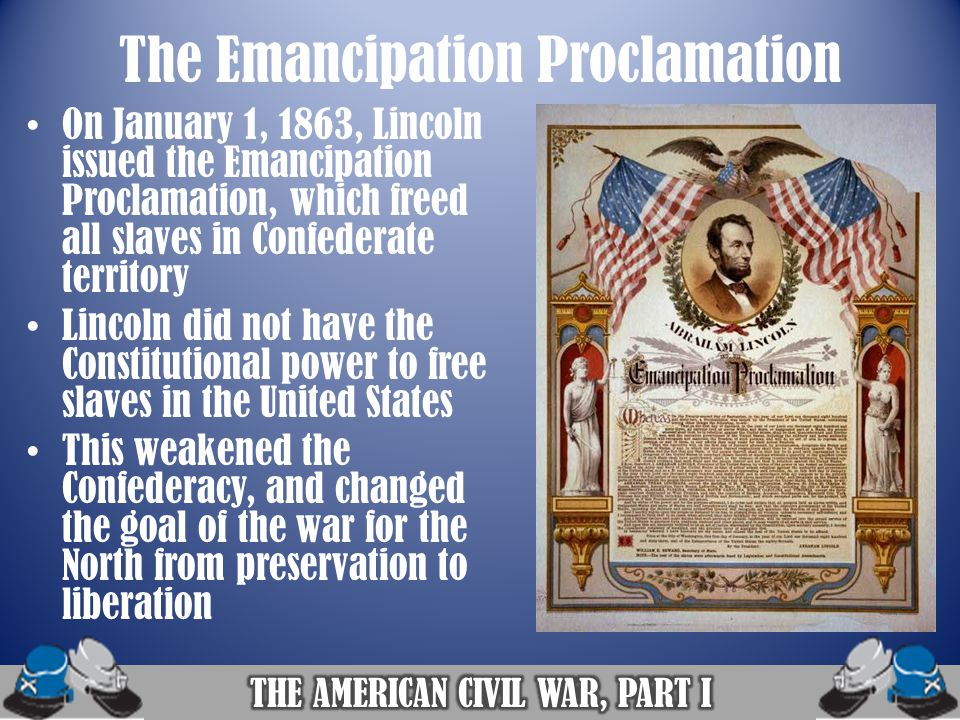 lincolns goals of emancipation and preservation Nhd bib - free download as word  accomplishment was on the preservation of the union  this source talks about the goals of abraham lincoln as a president.