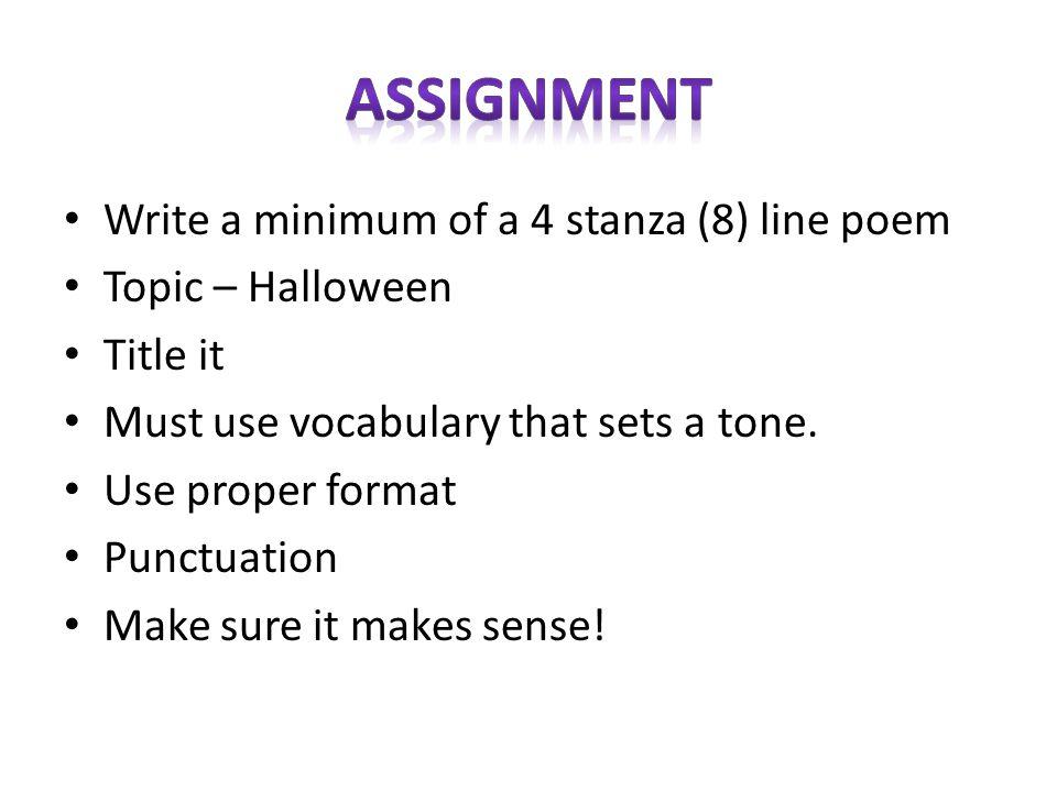 easy quatrain poems examples - photo #28