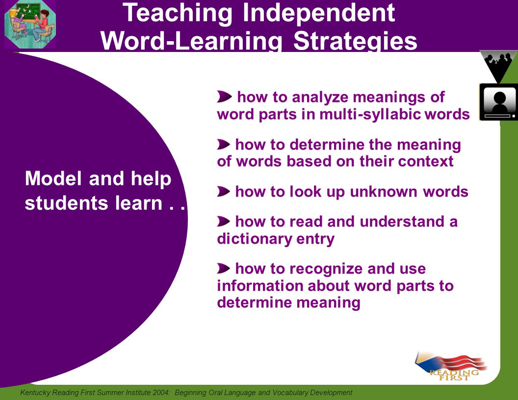Teaching Independent Word-Learning Strategies