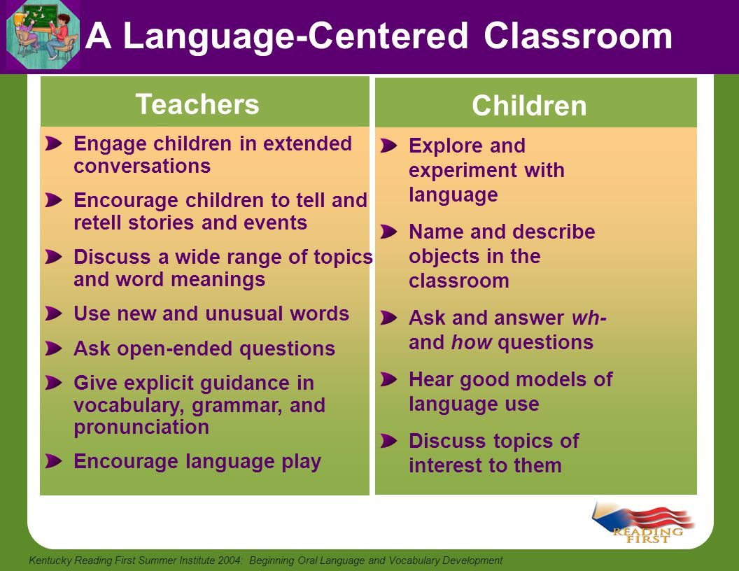 A Language-Centered Classroom