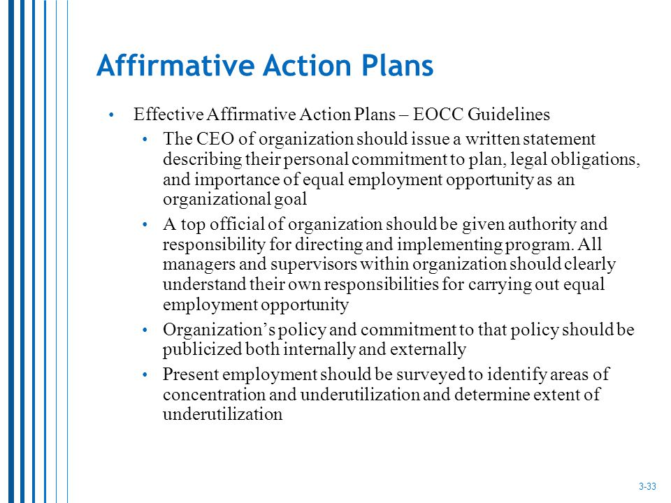 affirmative action 3 essay