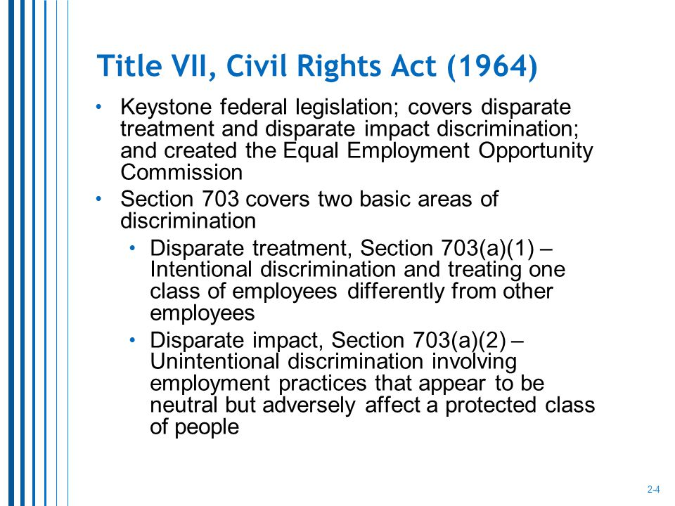 the legislative history of title vii We next look to the legislative history of title vii appellee has cited nothing, and we find nothing in the legislative history that suggests an express legislative intent to exclude same-sex harassment claims from the purview of title vii instead.