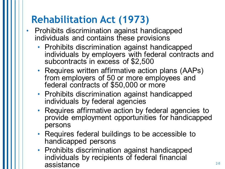 legal environment and equal opportunity Equal employment opportunity the office of civil rights (ocr) administers and ensures agency compliance with the laws, regulations, policies, and guidance that.