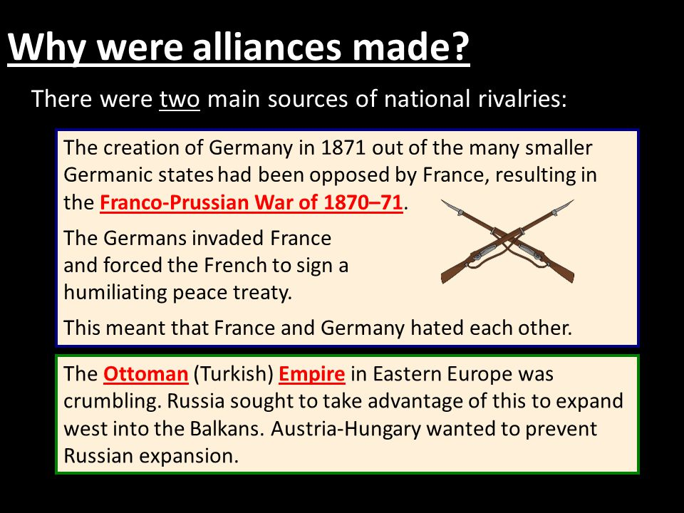 How and why did the Alliance System form? - ppt video online download
