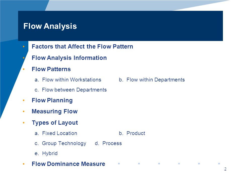 Facility Design Week 4 Material Flow Analysis Ppt Video Online Download