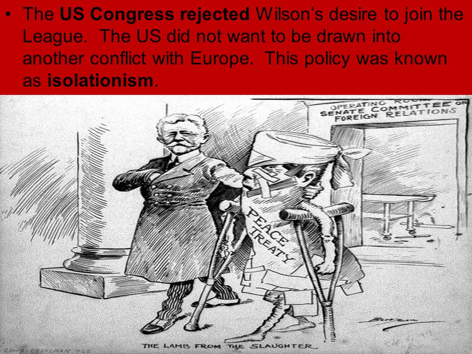 senate rejects the league of nations Senate rejects treaty of versailles 21 feb 2017 the following year saw big four meet again in versailles us rejects league of nations - duration: 2:39 historycomestolife 1,378 views 2:39 the league of nations.