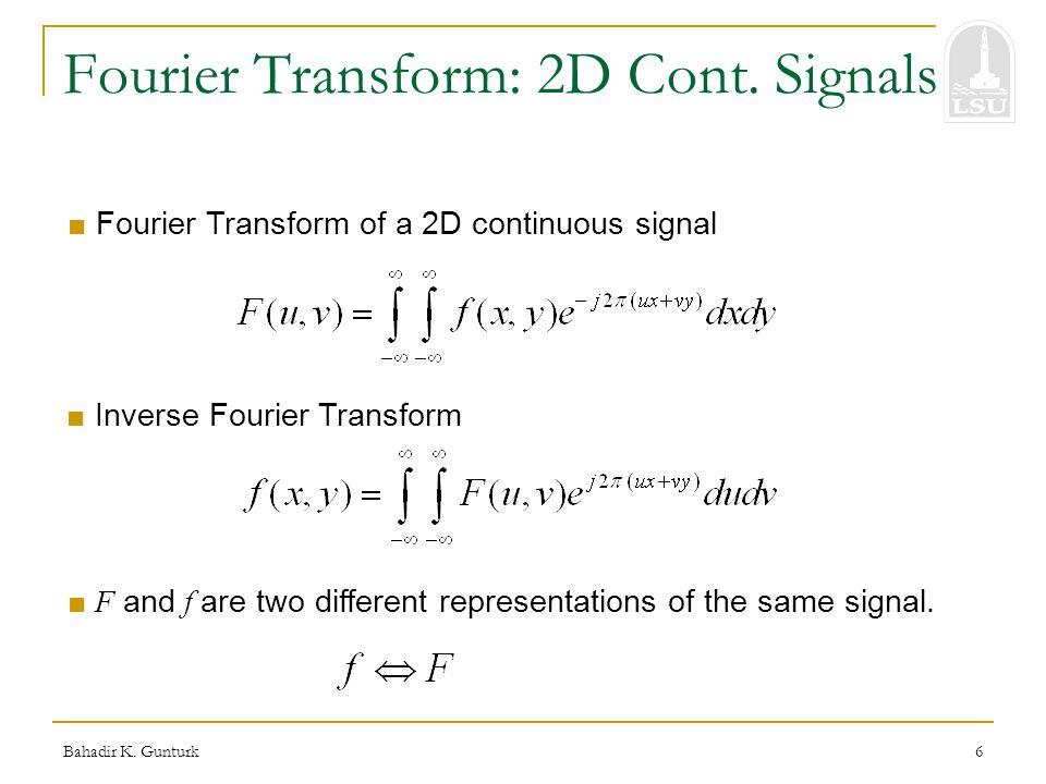 inverse fourier transform formula pdf