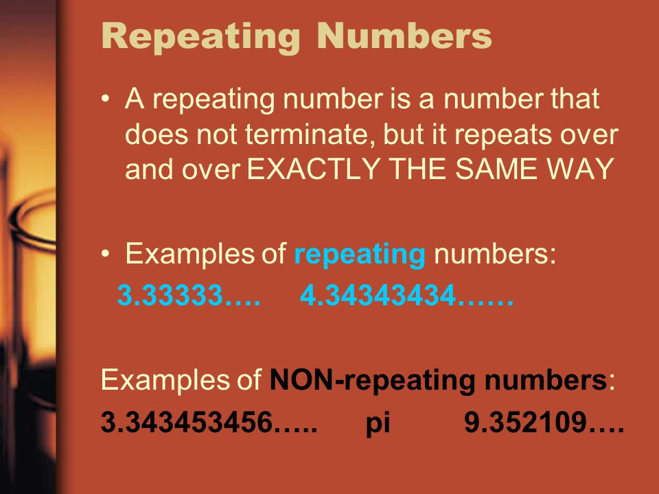 Rational and Irrational Numbers - ppt video online download