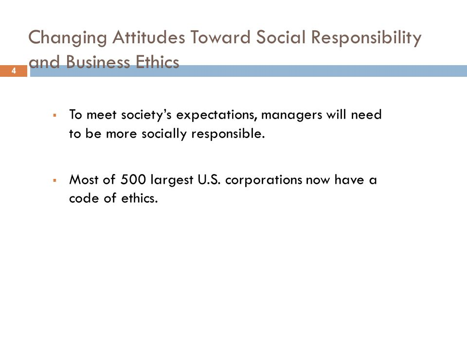 company q's attitude toward social responsibility Customer perceptions of corporate social responsibility of service firms: impact on customer attitudes and behavioral intentions priyanko guchait 1 the pennsylvania state university university park, pa, usa mark anner (phd)  commitment towards the company.