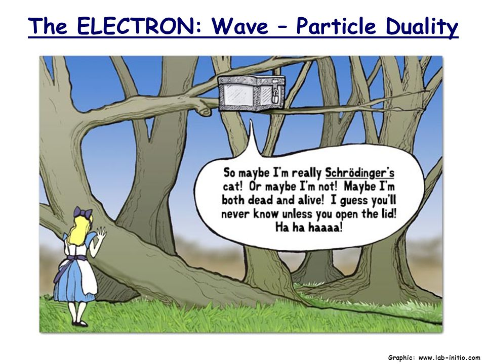 The ELECTRON: Wave – Particle Duality