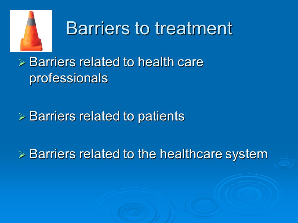 Barriers to successful treatment of cancer pain ppt download