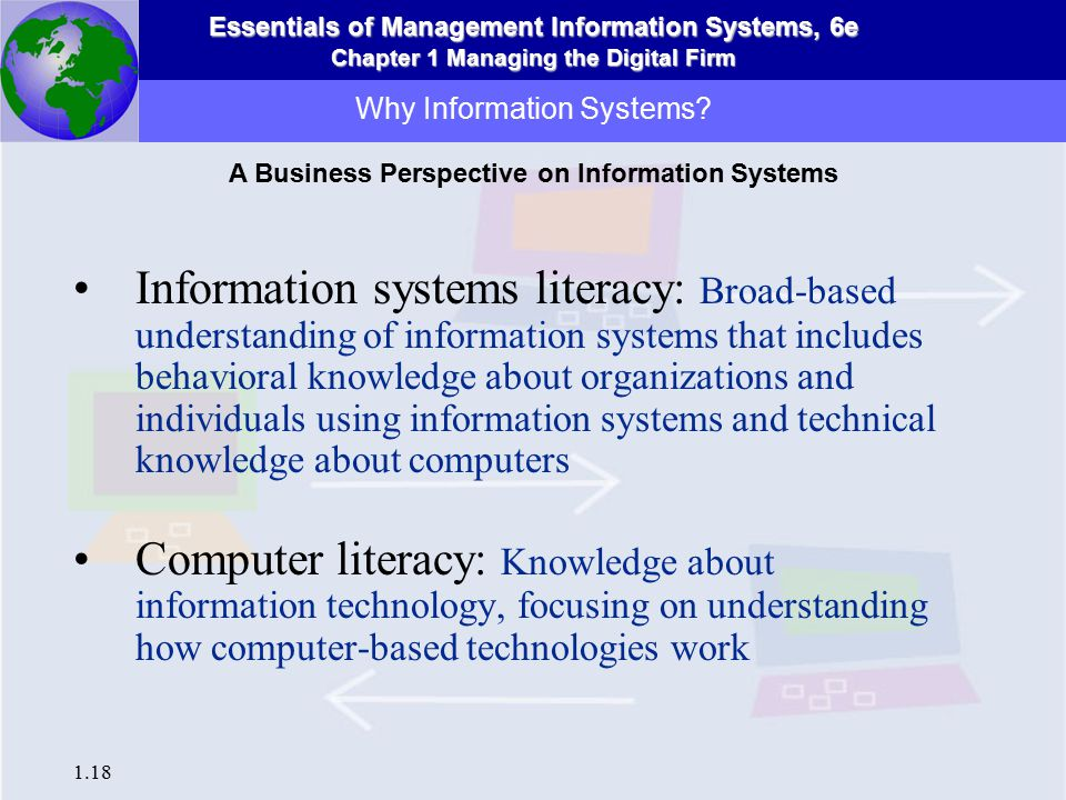 understanding information systems Understanding the role and the impact of information systems in today's business environment dr john lannon, february 2013, examiner in formation 2 information systems over the last couple of decades information systems (is) have led to dramatic increases in the productivity of companies both large and small.