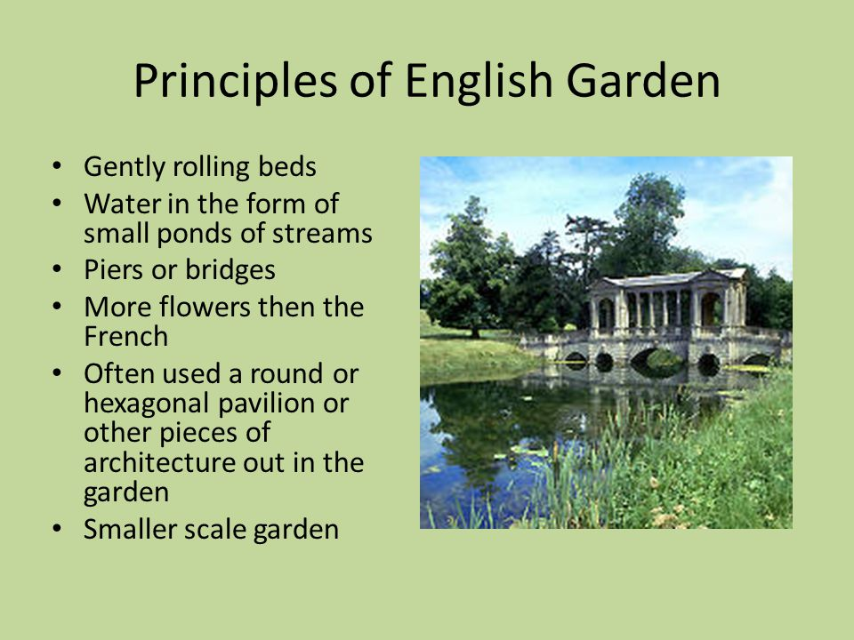 History of landscape design ppt download for Design of oxidation pond ppt