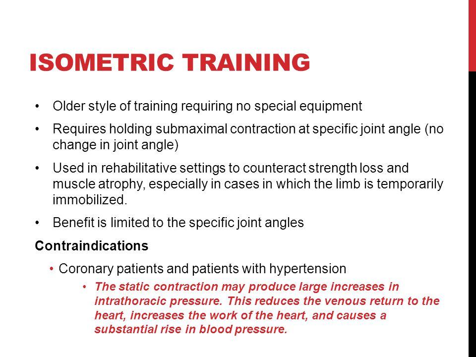 isometric strength training program pdf