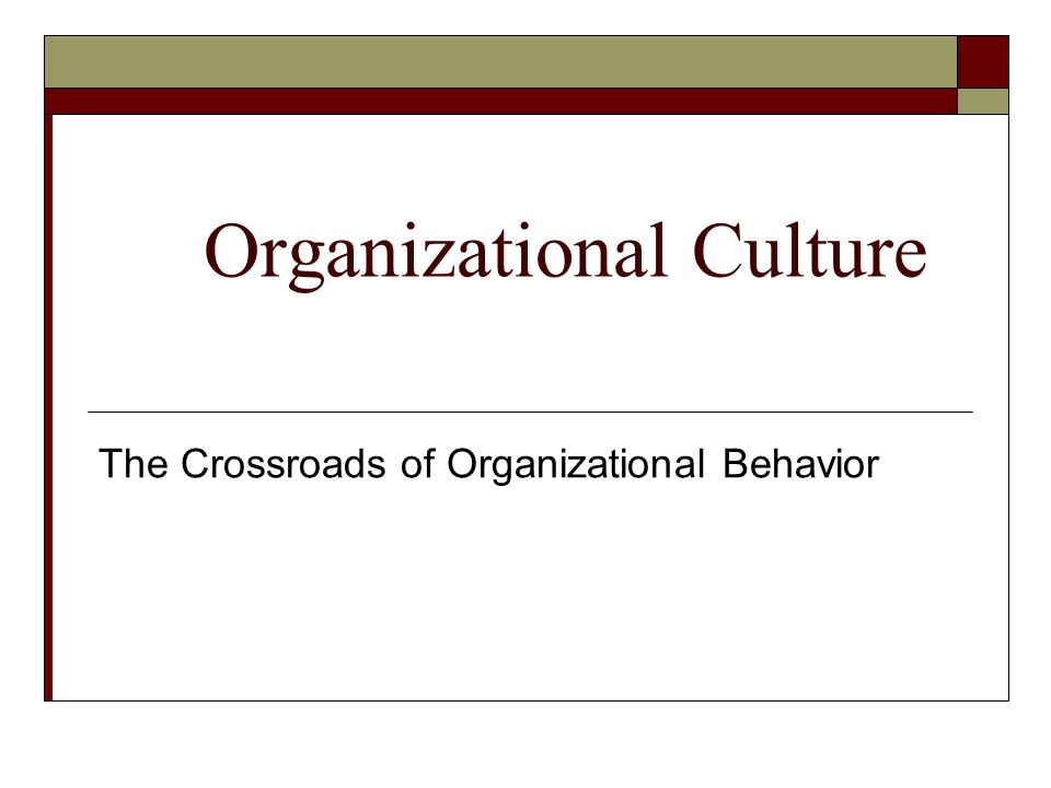 culture organizational behavior The workplace communication website defines organizational behavior as how employees act as individuals within the company and how they interact as.