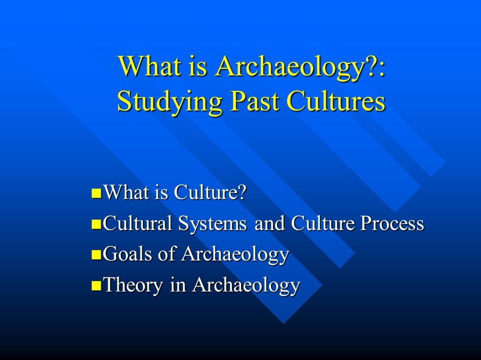 what are the goals of archaeology After a few years doing commercial archaeology in the united states, this interest in conflict, coupled with my desire to return to postgraduate study, saw me pack up and move across the atlantic to glasgow to pursue an mlitt, and latterly a phd, focused on conflict and battlefield archaeology with glasgow's own (and the only one in the world.