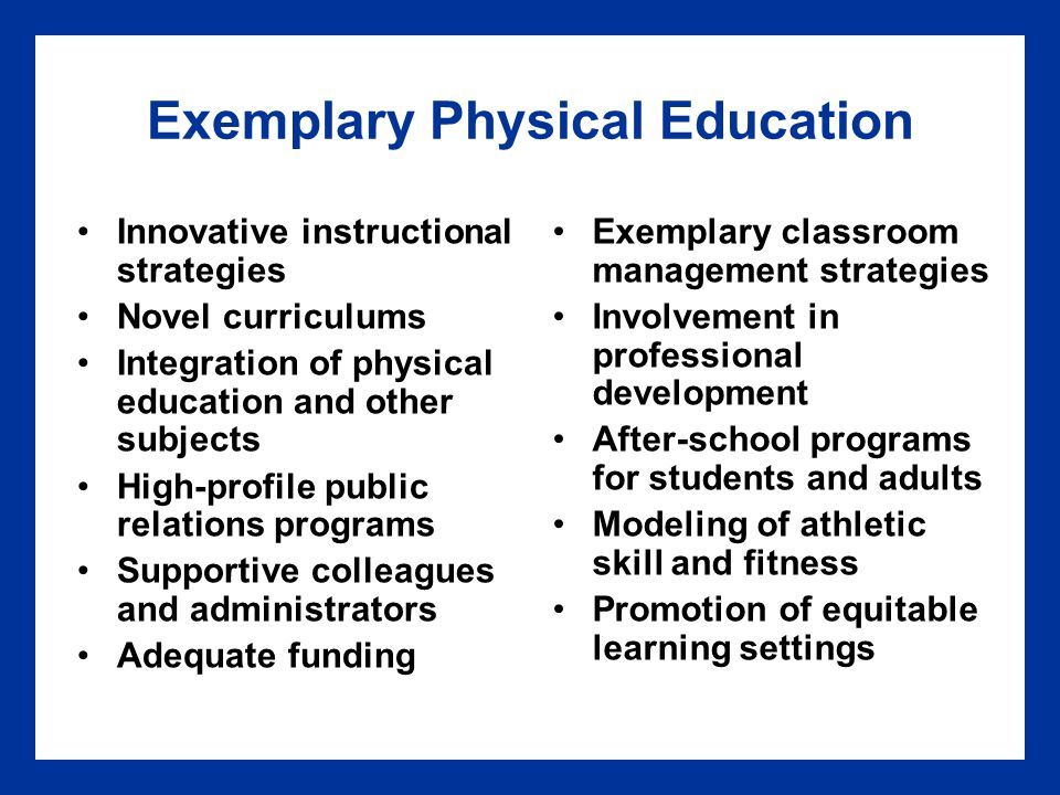 Innovative Classroom Teaching Strategies ~ Chapter careers in teaching physical education ppt
