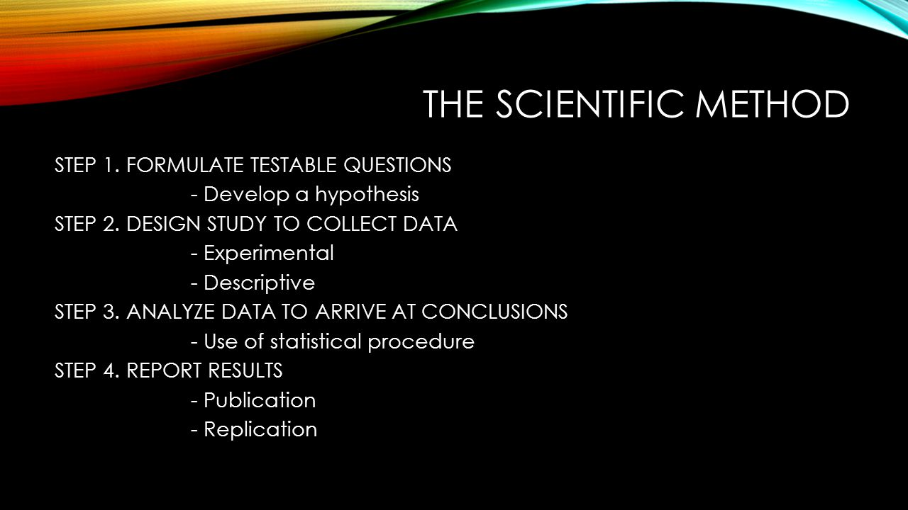 an introduction to the use of the scientific method in psychology Scientific method introduction • in this part you get your viewer interested in the scientific poster presentationpptx author: nick.