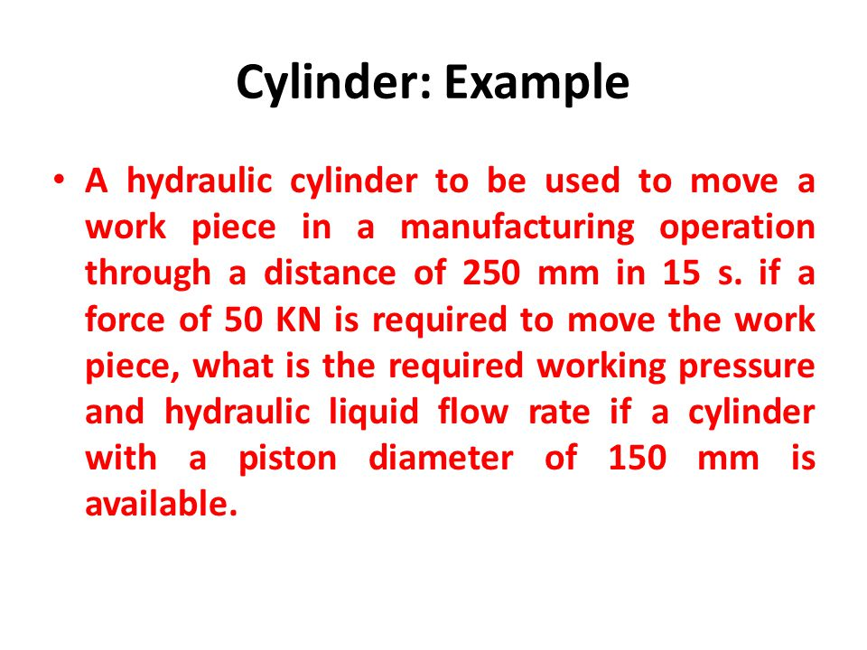 Cylinder: Example