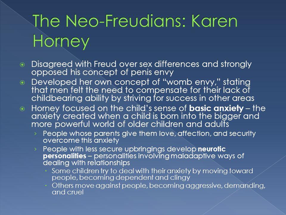 karen horney contributions psychology