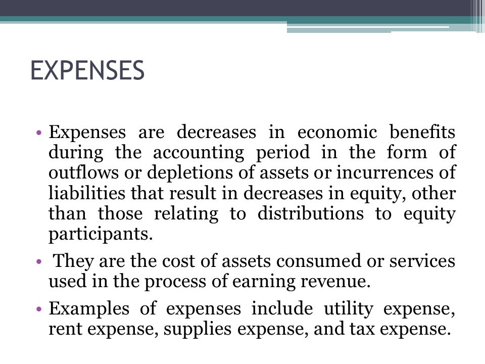 Utility Expense Debit Or Credit