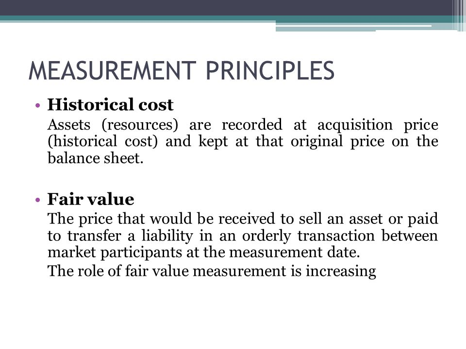 historical cost and fair value Bases of assessment, including: historical cost, current cost, achievable value,  present value, fair value the question is which of these evaluation bases will be .