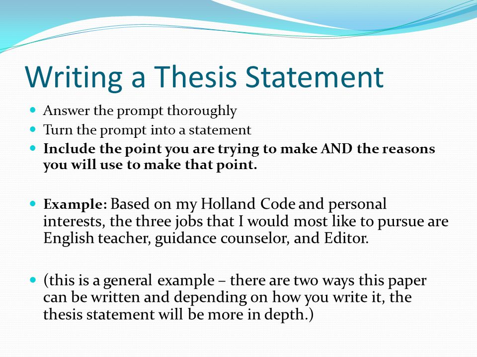 thesis statement sentences How to use thesis in a sentence example sentences with the word thesis thesis example sentences.