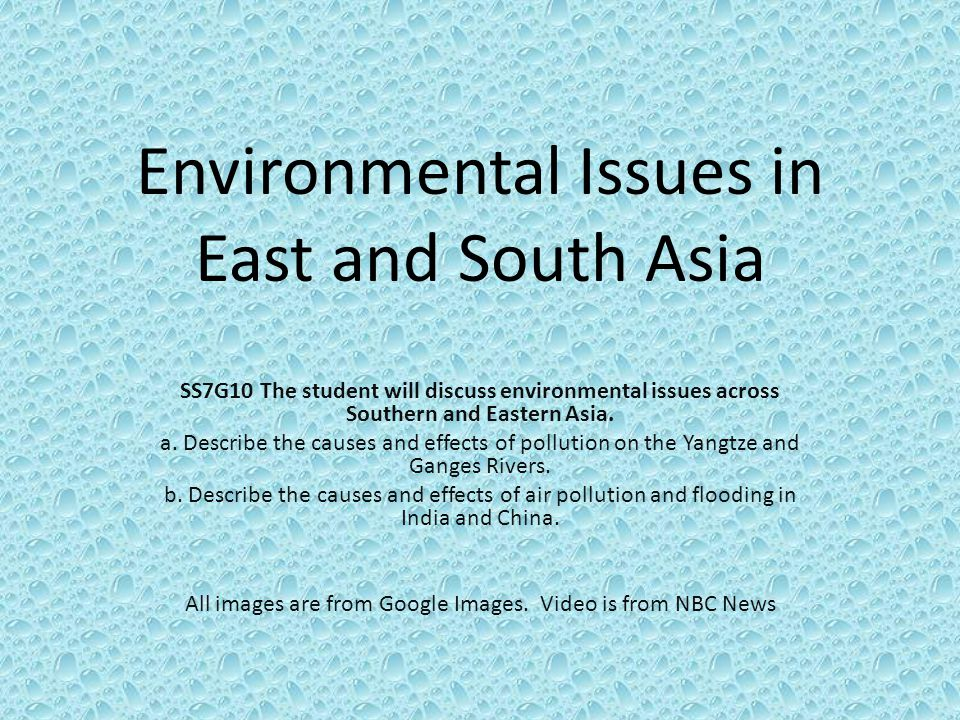 impacts of environment issues to china China environment series issue 3 transportation and the  effects will  depend on the success in controlling mobile emissions.