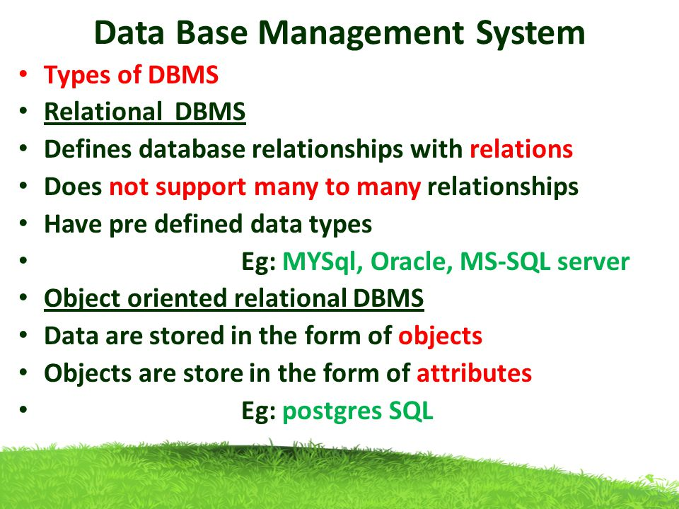 data base mangement system Database management systems provides comprehensive and up-to-date coverage of the fundamentals of database systems coherent explanations and practical examples have made this one of the leading texts in the field.