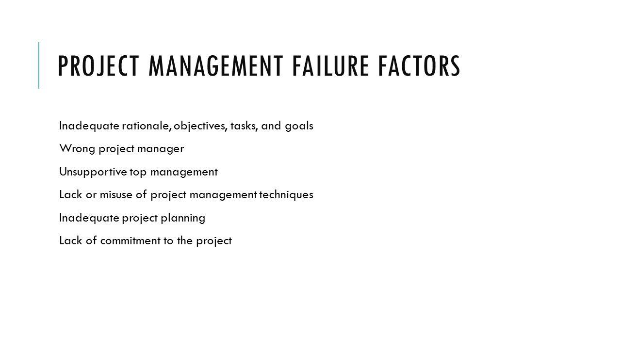 Itmg 494 businessit project management ppt download 44 project management failure factors xflitez Gallery