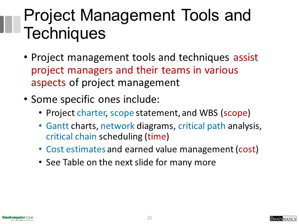 management tools and techniques essay Fundamentals of project management- tools and techniques custom essay fundamentals of project management- tools and techniques order management.