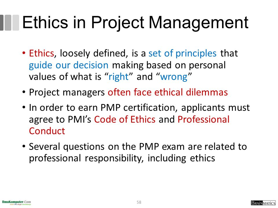project management ethical dilemmas Post navigation ← previous next → ethical challenges for project managers: when a project manager has to make an ethical choice in project management.