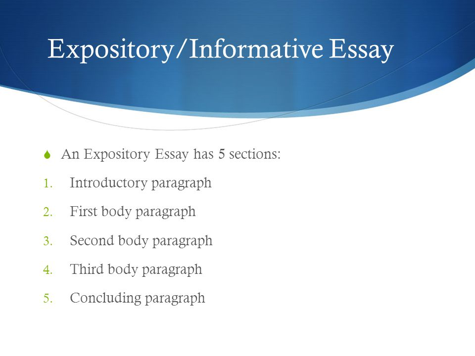 informative essays Informative essay samples to help you write a better essay check out our free informative papers, essays, and research papers to help you write your own essay.