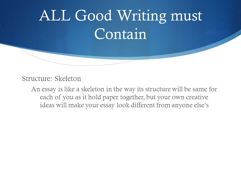 create your own school essay