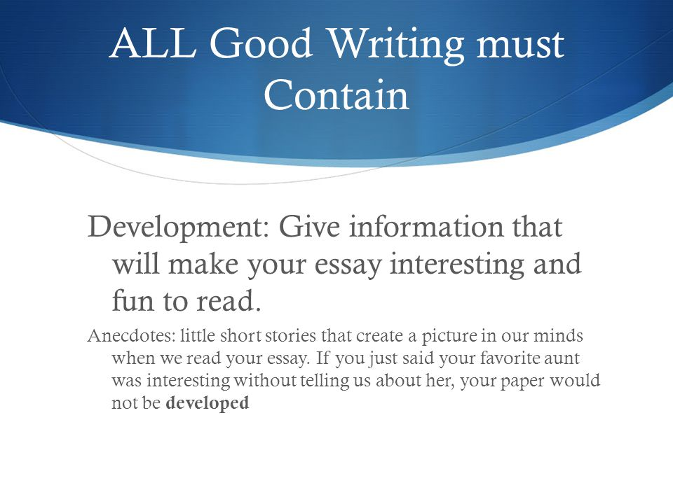 expository informative essay ppt video online 7 all