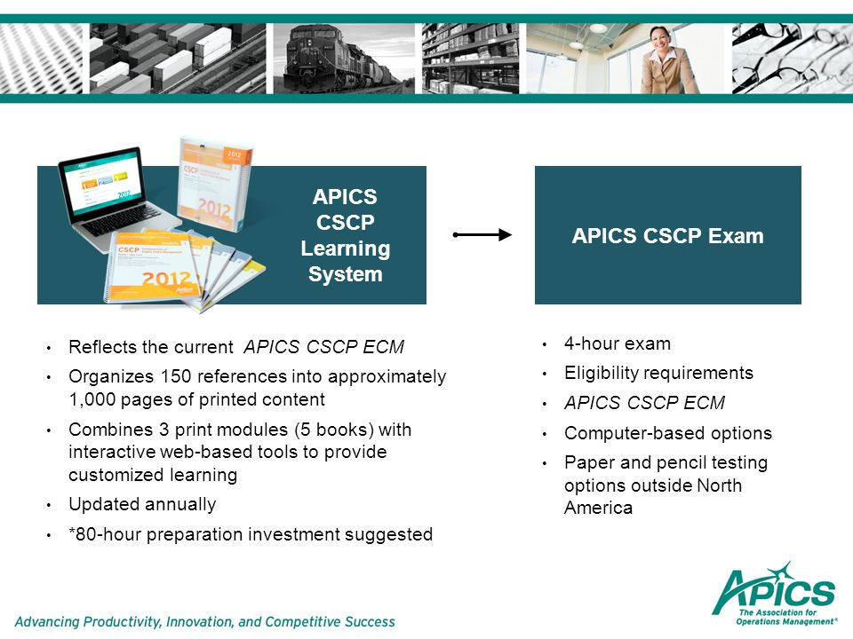 APICS CLTD Learning System 2019 - store.partnerrc.com