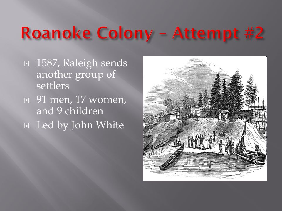 Roanoke Colony – Attempt #2