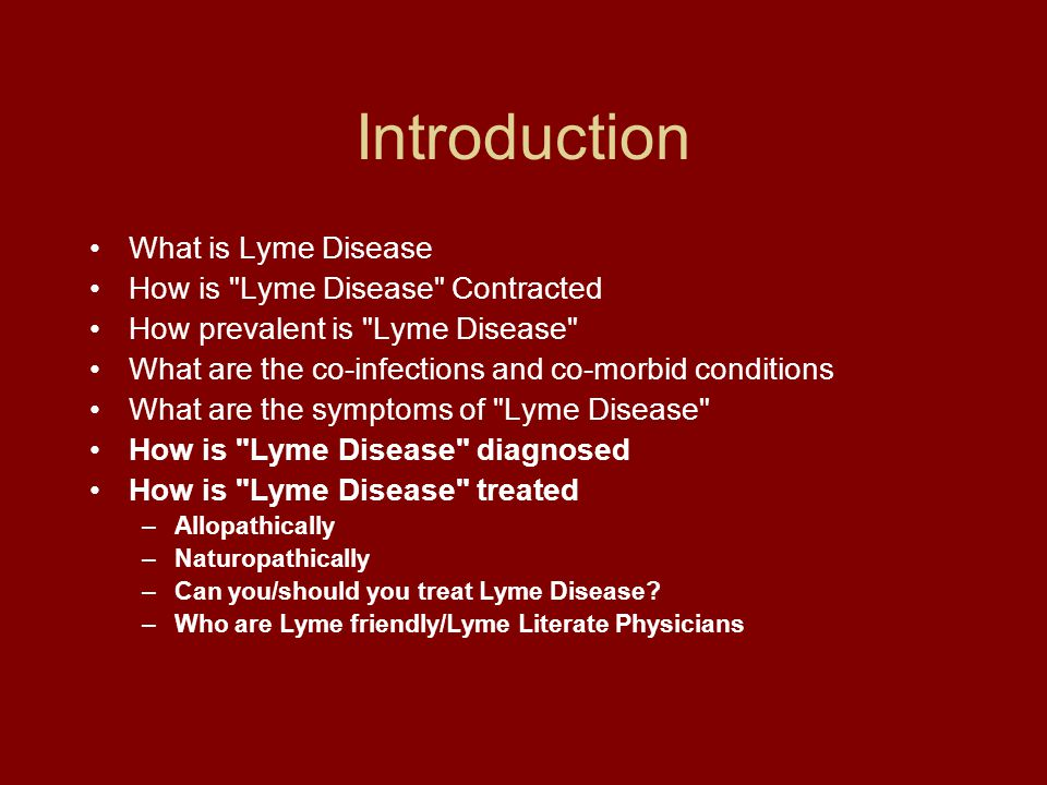 an introduction to the issue of lyme arthitis disease Lyme disease was first recognized in the mid-1970s when a group of children and adults from lyme, connecticut began experiencing inflammatory arthritis.