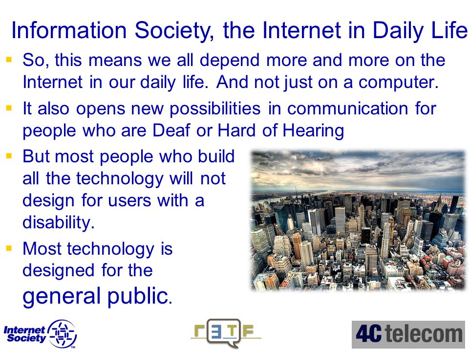 conclusion of computer and internet on our society The literature on the internet and youth culture presents different views regarding the role of technology in society  within a computer space,.