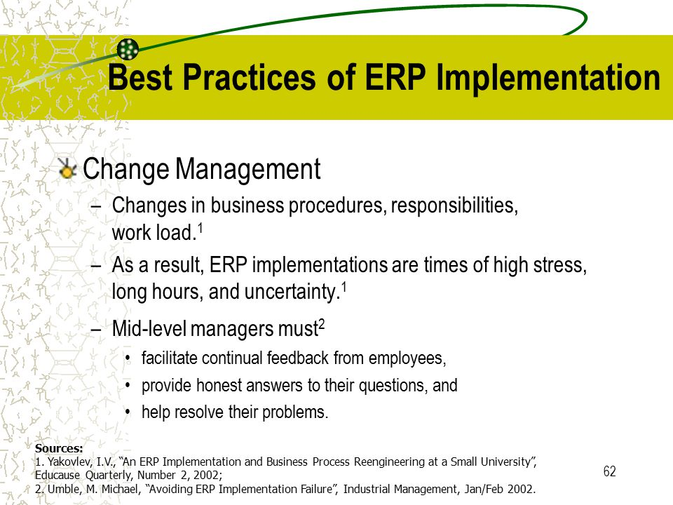 erp implementation practical perspective