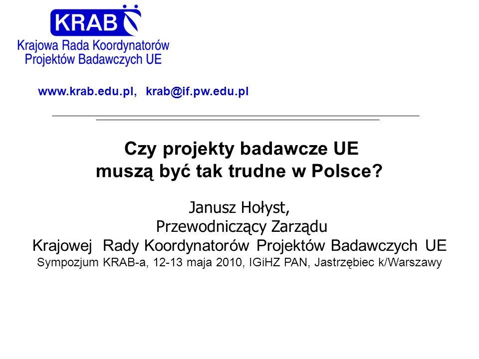 muszą być tak trudne w Polsce