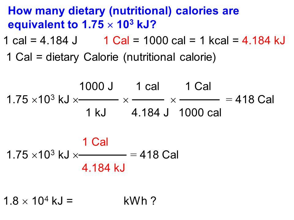 kilojoule in kilowattstunden