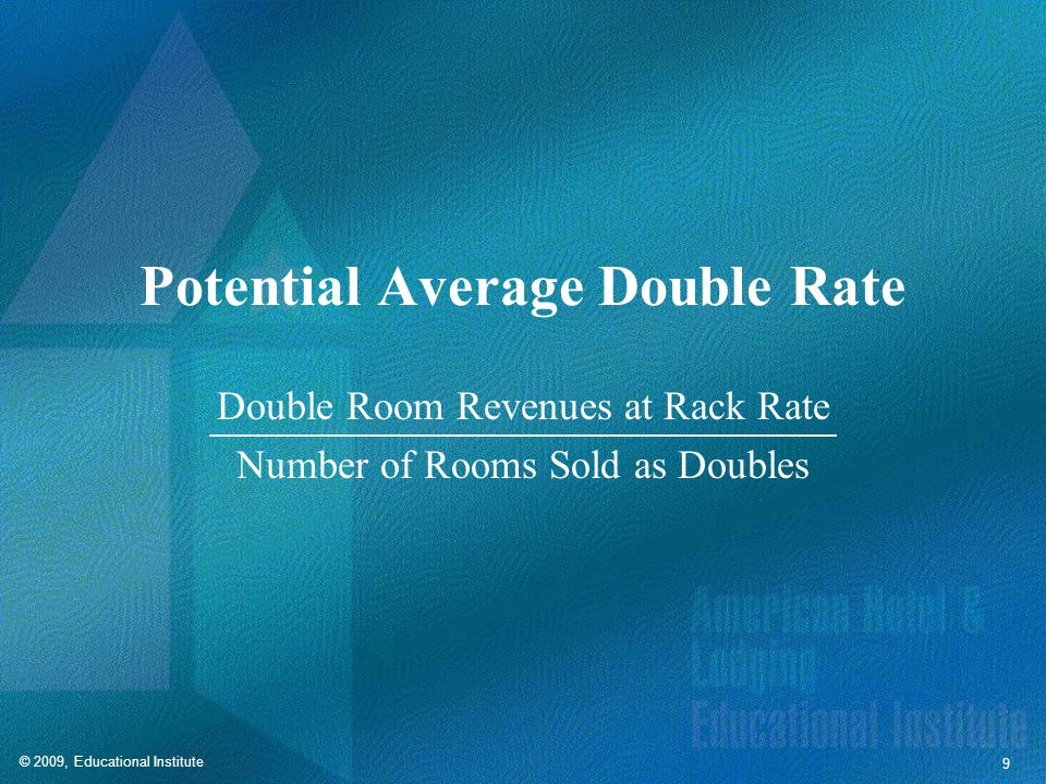 Rate Spread Potential Average Double Rate  Potential Average Single Rate