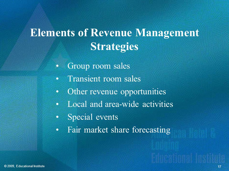 Revenue Manager Skills and Qualities