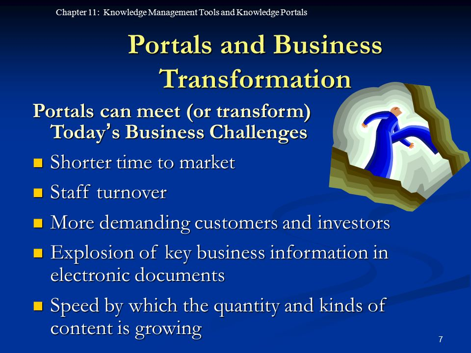 Portals and Business Transformation