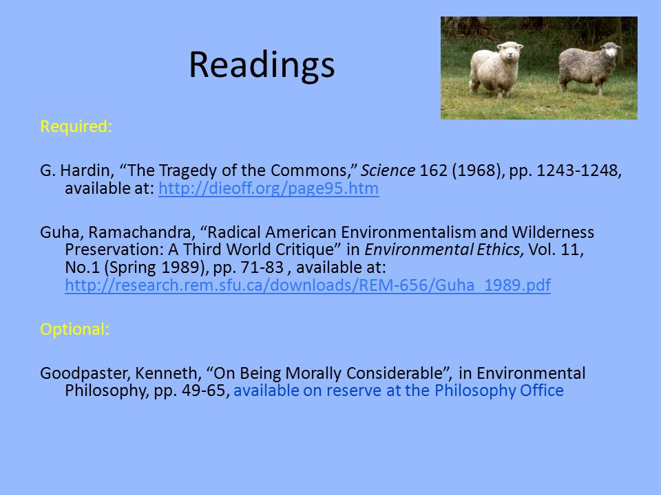 the tragedy of the commons hardin 1968 pdf